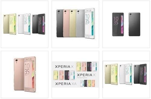 Xperia X Performance画像