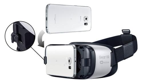 Gear VR装着画像