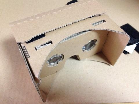 ダンボールの3Dメガネ「グーグルカードボード」を体験してみました
