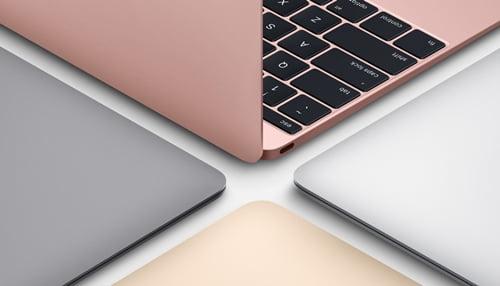 MacBook本体カラー画像