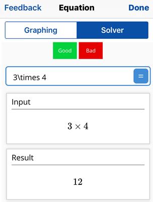 MathpixiOSアプリ3x4計算結果