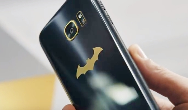 Galaxy S7 edge Injustice Edition バットマン仕様モデル登場!