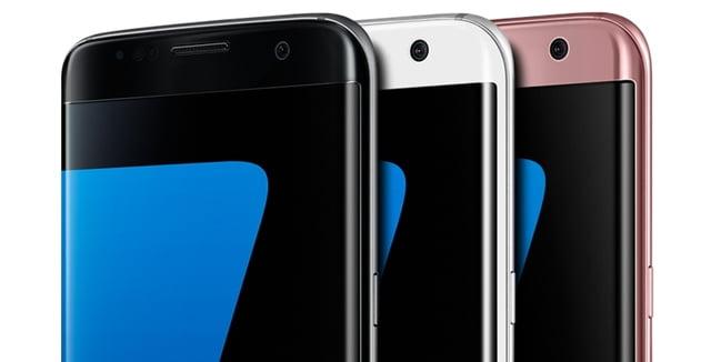 Galaxy S7 edge本体