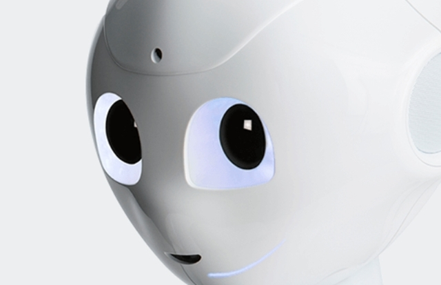 Pepperの目