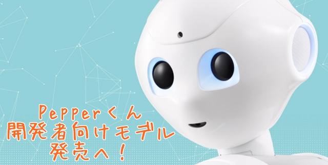 Pepperくん開発用Androidアプリ無料配布スタート 開発者向けモデルの値段は198000円