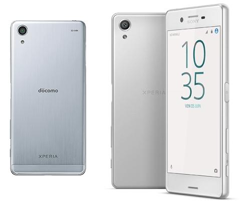 Xperia X Performance海外版・日本版の背面比較画像