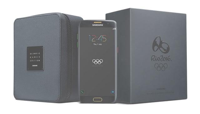 Galaxy S7 edgeのオリンピックモデル「Olympic Games Limited Edition」登場!