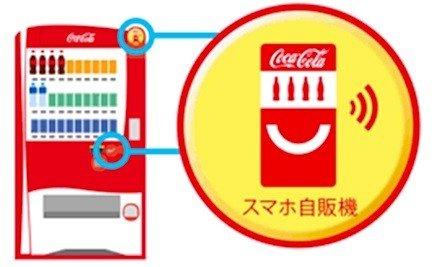 スマホアプリ「Coke ON(コーク オン)」対応マーク