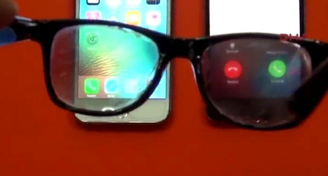スマホ画面のぞき見防止ディスプレイメガネ仕組み