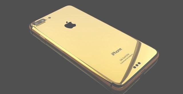 iPhone7を純金でデコレーションしてくれるサービス 8/25~予約スタート!