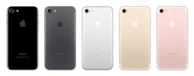 iPhone7本体カラー