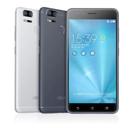 ZenFone ZoomSデザイン