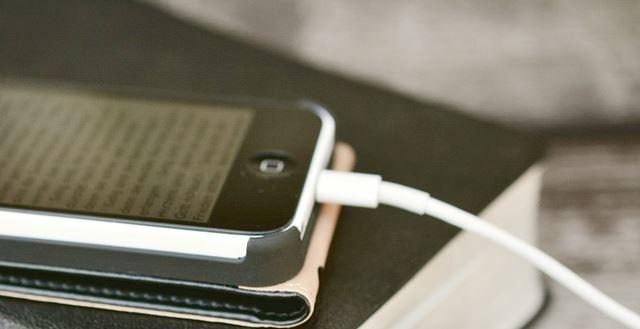 iPhone充電しすぎ