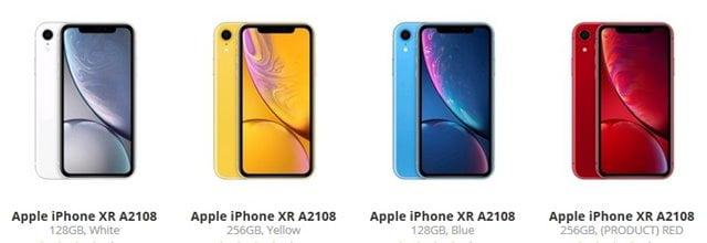 海外版iPhoneXR