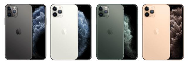 iPhone11Proの人気色
